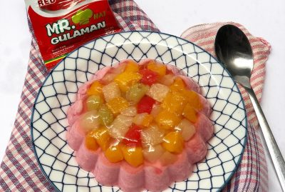 Blush Pink Gulaman De Fruta