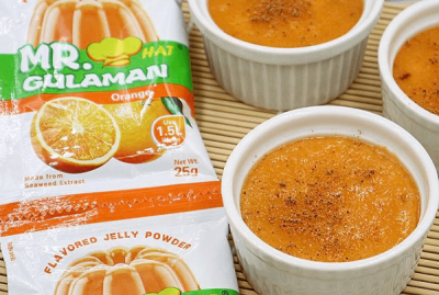 Gulaman Egg Custard