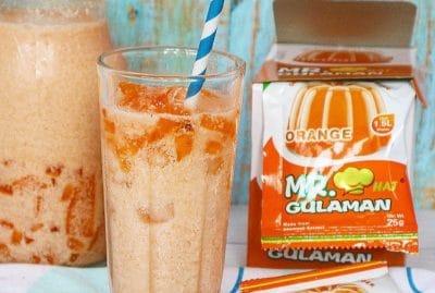 Milky Melon Gulaman