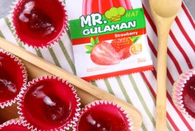 Mini Strawberry Cheesecake Jelly
