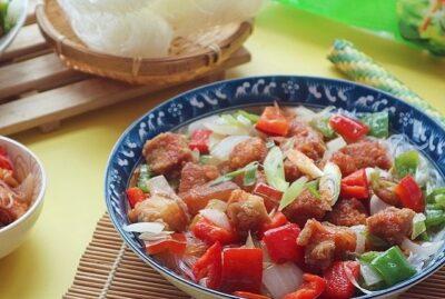 Sweet Chicken Sotanghon