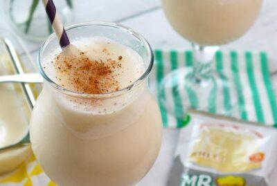 Mr. Hat Gulaman Vanilla Milk Shake