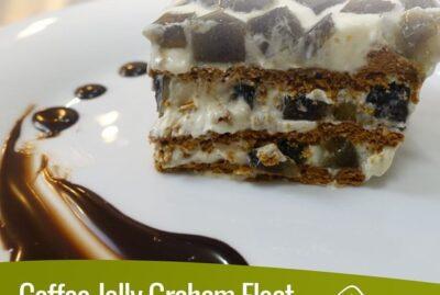 Coffee Jelly Graham Float – Mr. Hat Gulaman Coffee Jelly