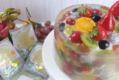 Fruit Jelly Cheese Cake
